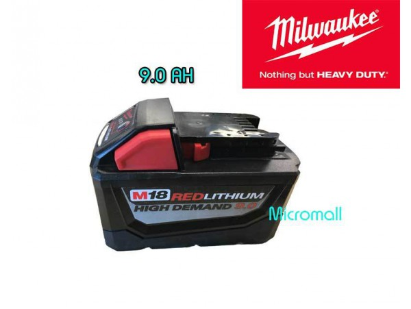 Milwaukee m18 9.0 REDLITHIUM High Demand 9.0 Battery Pack 48-11-1890